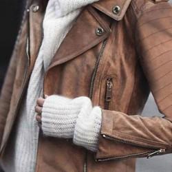 Long Sleeve Lapel Buttons Zipper Pockets Coats Jackets
