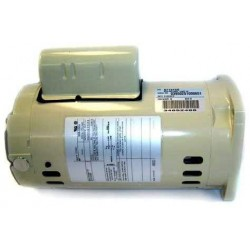 071315S Almond Single Phase 1-1/2 HP Square Flange Motor Replacement Inground Pool and Spa Pump