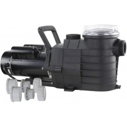 025191 High Performance Pool Pump (1-1/2 HP Single Speed) Pump for Swimming Pools up to 53,000 Gallons, In Ground or Above Ground, 6,000 GPH