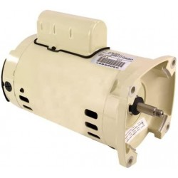 075234S Almond Standard Single Phase 1 HP Square Flange Motor Replacement Pool and Spa Pump