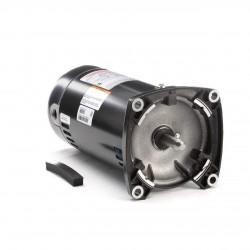 1 hp 3450 RPM 48Y Frame Square Flange 115/230V Pool Motor # USQ1102