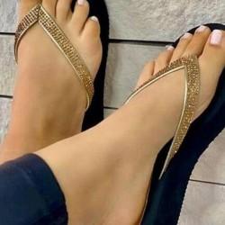 Women's Flip-Flops Flat Heel Sneakers
