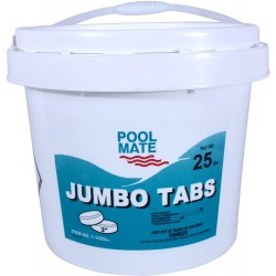 1-1425 Jumbo 3-Inch Swimming Pool Chlorine Tablets, 25-Pounds