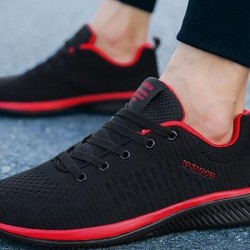 Women's Flats Fabric Flat Heel Sneakers